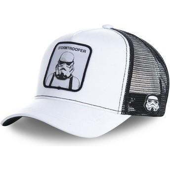 Gorra trucker blanca Stormtrooper WA Star Wars de Capslab