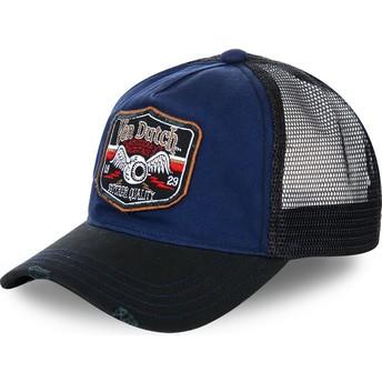 Gorra trucker azul y negra TRUCK03 de Von Dutch