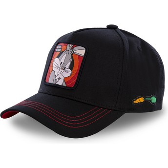 Gorra curva negra snapback Bugs Bunny BUG2 Looney Tunes de Capslab