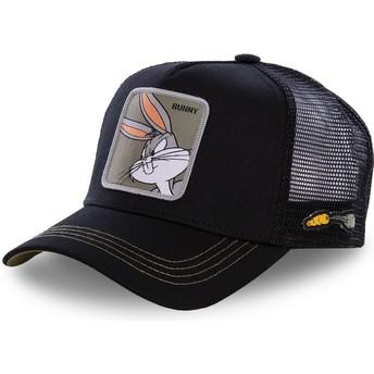 Gorra trucker negra Bugs Bunny BUN1 Looney Tunes de Capslab