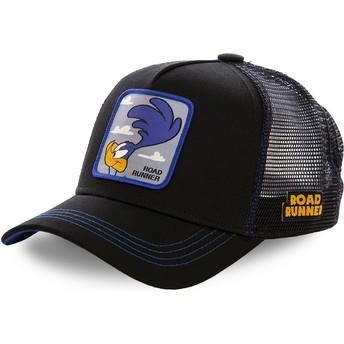 Gorra trucker negra Correcaminos ROA1 Looney Tunes de Capslab