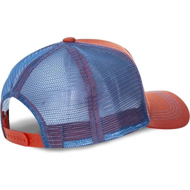 ... Street Fighter de Capslab. gorra-trucker-roja-y-azul-ken-masters-ken- 7c66503bf88
