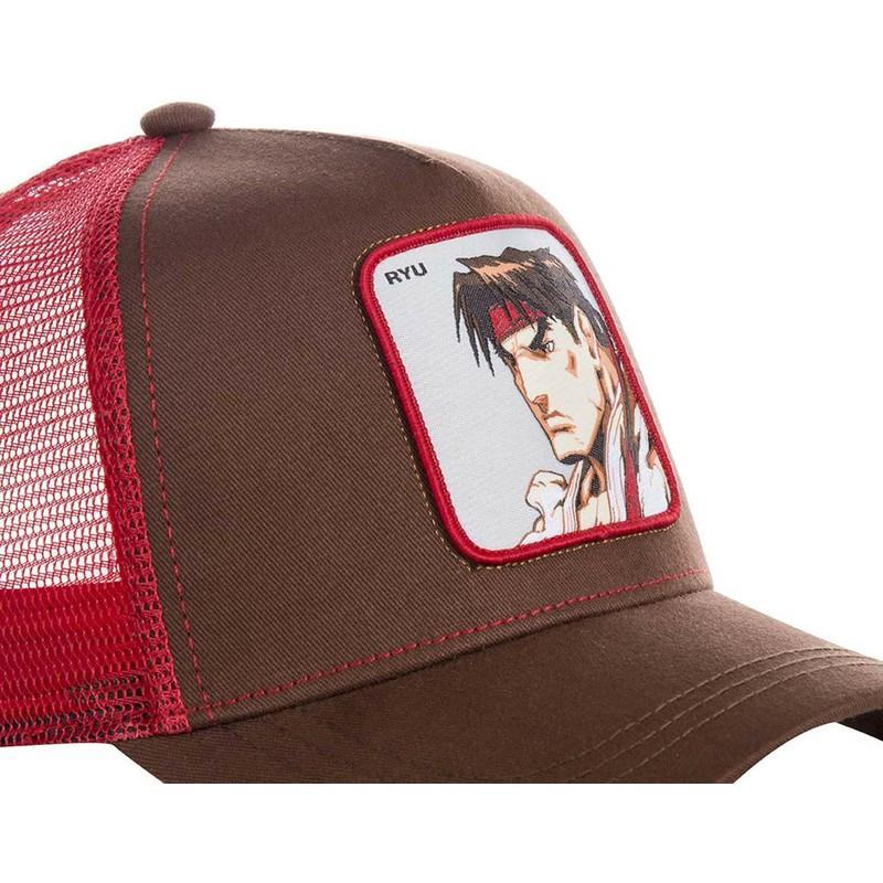 Gorra trucker roja Ryu RYU Street Fighter de Capslab  comprar online ... 47f2f072b08