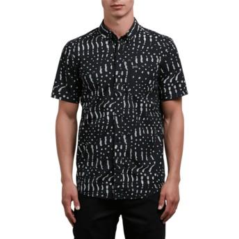 Camisa manga corta negra Drag Dot Black de Volcom
