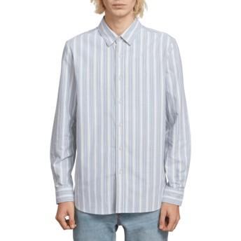 Camisa manga larga azul Vert Toner Wrecked Indigo de Volcom