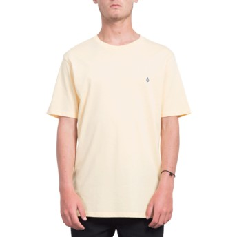 Camiseta manga corta naranja Stone Blank Light Peach de Volcom