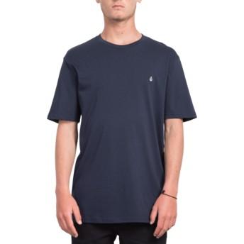 Camiseta manga corta azul marino Stone Blank Navy de Volcom