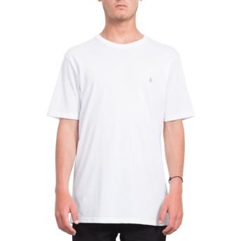 Camiseta manga corta blanca Stone Blank White de Volcom