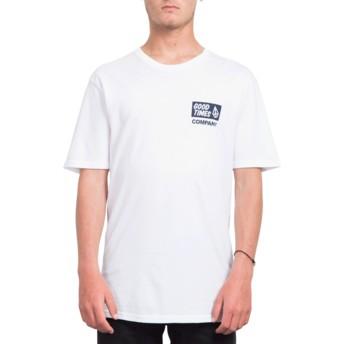 Camiseta manga corta blanca Volcom Is Good White de Volcom