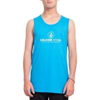 Camiseta sin mangas azul Super Clean Cyan Blue de Volcom