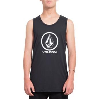 Camiseta sin mangas negra Crisp Stone Black de Volcom