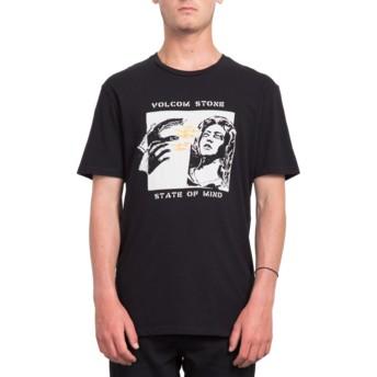 Camiseta manga corta negra State Of Mind Black de Volcom