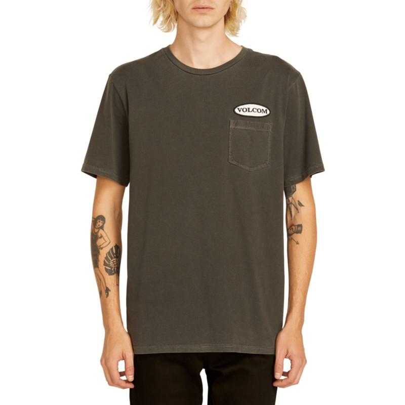 cb9200fba20a8 Camiseta manga corta negra Oval Patch Black de Volcom  comprar ...