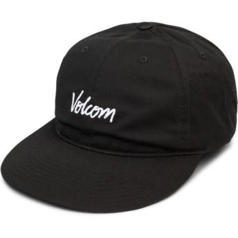 Gorra curva negra ajustable Volscripto Black de Volcom