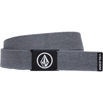 Cinturón gris Circle Web Charcoal Heather de Volcom