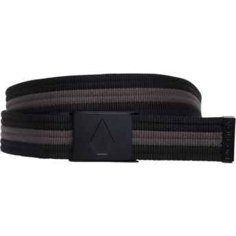 Cinturón negro Strap Web Black de Volcom
