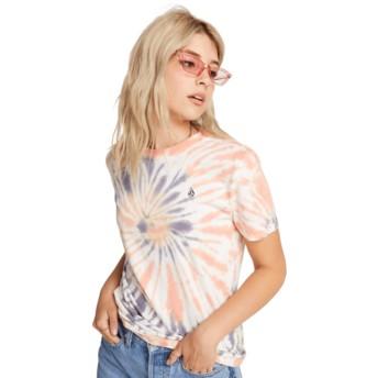 Camiseta manga corta multicolor Zipn N Tripn Multi de Volcom