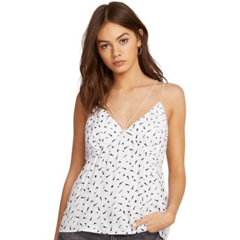 Blusa de tirantes blanca Good To Be You White de Volcom