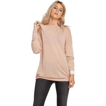Jersey rosa Simply Stone Knit Mushroom de Volcom
