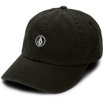 Gorra curva negra ajustable Good Mood Black de Volcom