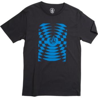Camiseta manga corta negra para niño Check Wreck Division Black de Volcom