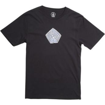Camiseta manga corta negra para niño Noa Band Division Black de Volcom