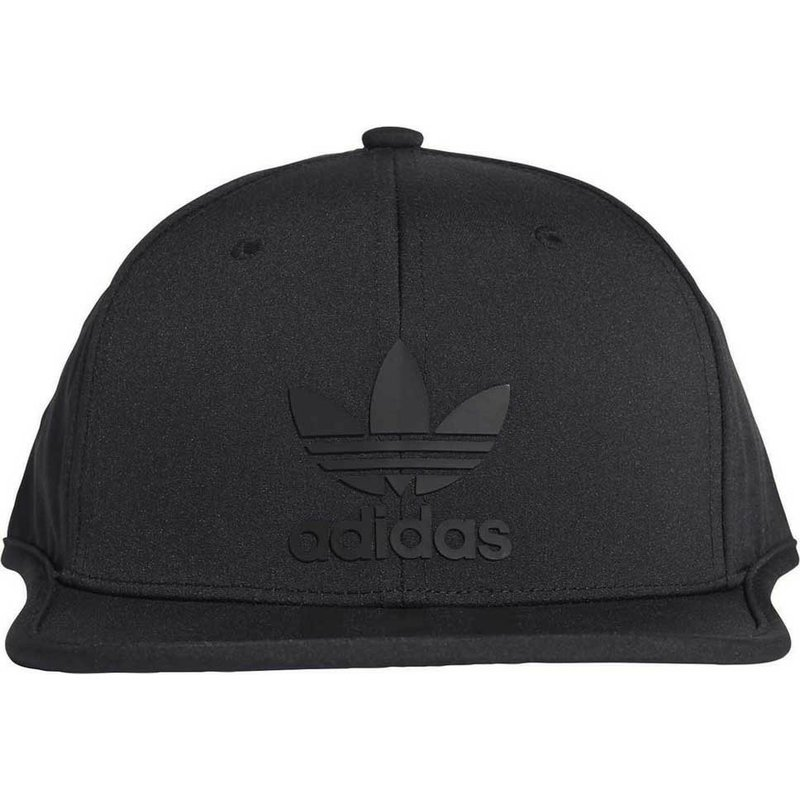 3e50c2fcc695d Gorra plana negra snapback 3 Stripes de Adidas  comprar online en ...
