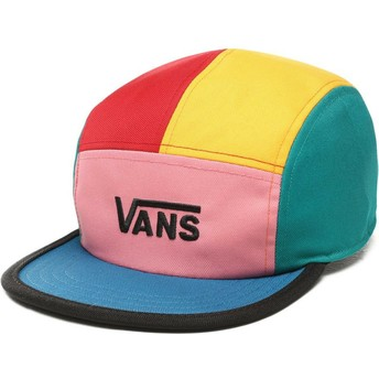 Gorra 5 panel multicolor Patchy de Vans