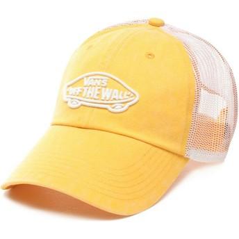 Gorra trucker amarilla Acer de Vans