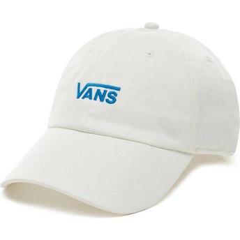 Gorra curva blanca ajustable Court Side de Vans