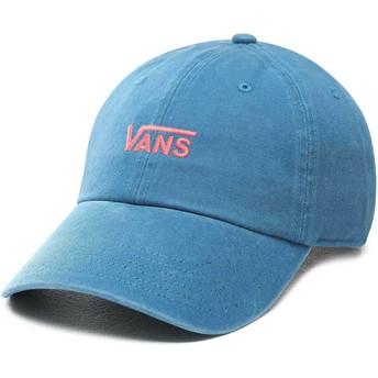 Gorra curva azul ajustable Court Side de Vans