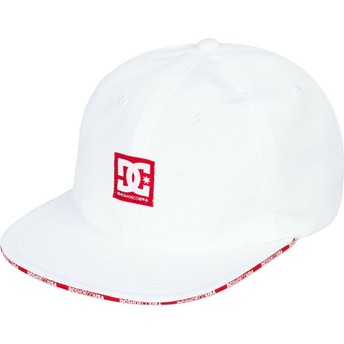 Gorra plana blanca ajustable Sandwich de DC Shoes