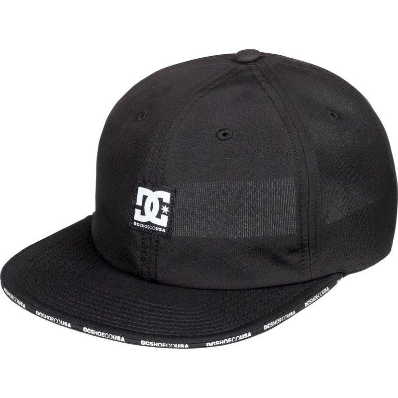 58a2cb52715e5 Gorra plana negra ajustable Sandwich de DC Shoes  comprar online en ...