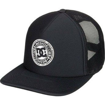 Gorra trucker negra Vested Up de DC Shoes