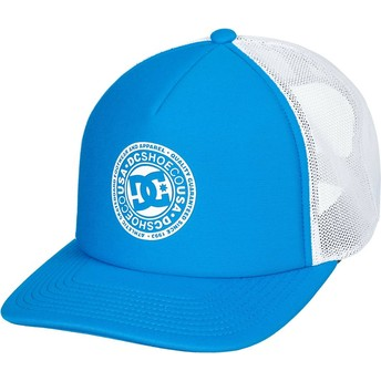 Gorra trucker azul y blanca Vested Up de DC Shoes