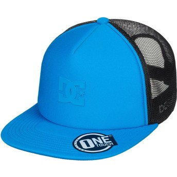 Gorra trucker azul Greet Up de DC Shoes