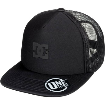 Gorra trucker negra Greet Up de DC Shoes