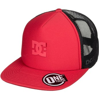 Gorra trucker roja Greet Up de DC Shoes