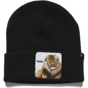 Gorro negro león Hear Me Roar de Goorin Bros.