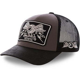 Gorra trucker gris DAMAGED de Von Dutch