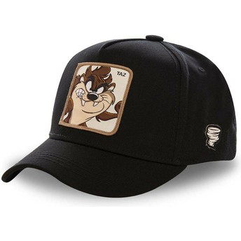 Gorra curva negra snapback Diablo de Tasmania TAZ5 Looney Tunes de Capslab