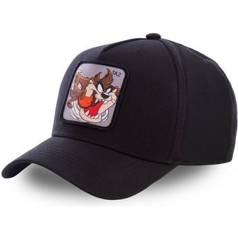 Gorra curva negra snapback Diablo de Tasmania TAZ6 Looney Tunes de Capslab
