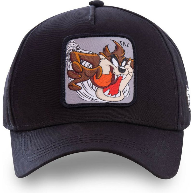 Gorra curva negra snapback Diablo de Tasmania TAZ6 Looney Tunes de ... 40b85d9cdb5