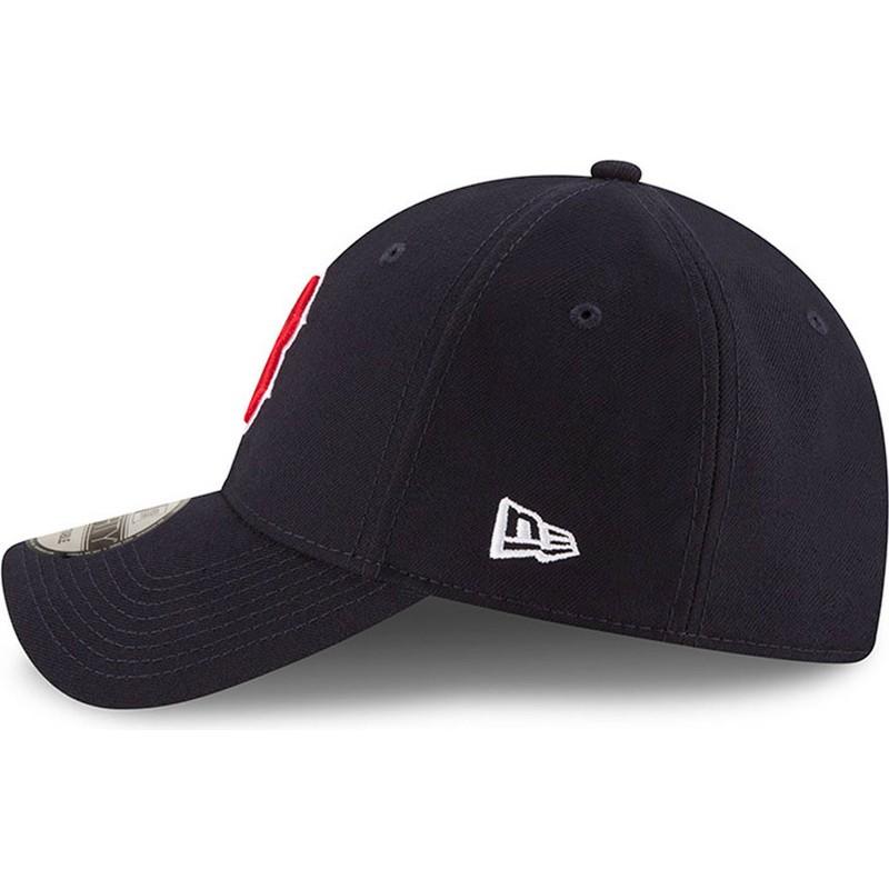 ... Red Sox MLB de New Era. gorra-curva-azul-marino-ajustable-9forty -the-league- 31d6568e834
