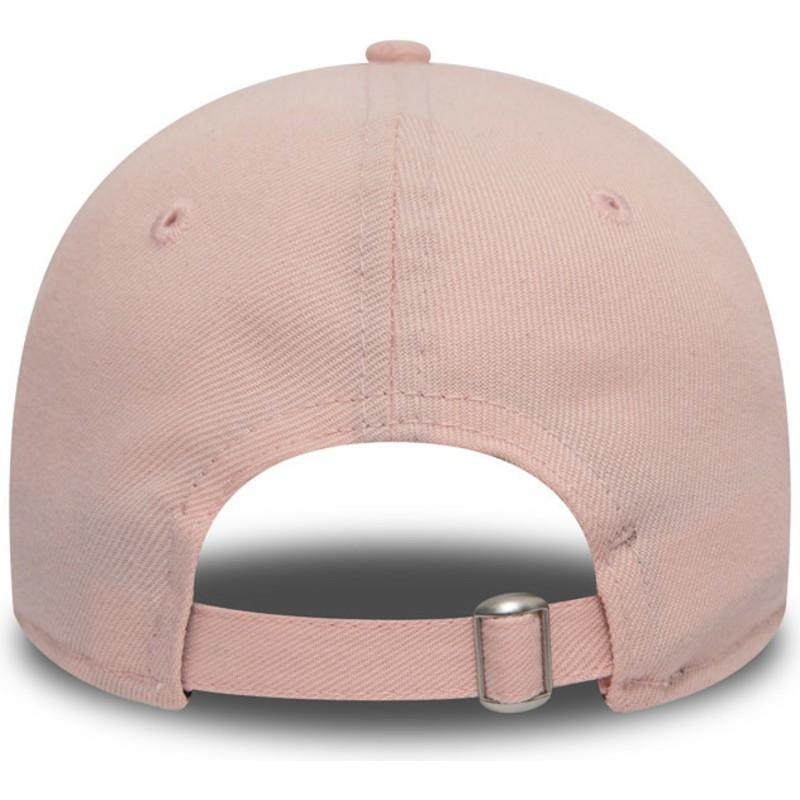 bb26adc175a4b Gorra curva rosa ajustable 9TWENTY DryEra Packable de Los Angeles ...