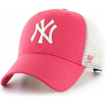 Gorra trucker rosa MVP Flagship de New York Yankees MLB de 47 Brand