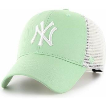 Gorra trucker verde claro MVP Flagship de New York Yankees MLB de 47 Brand