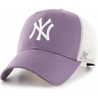 Gorra trucker violeta MVP Flagship de New York Yankees MLB de 47 Brand