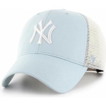 Gorra trucker azul claro MVP Flagship de New York Yankees MLB de 47 Brand