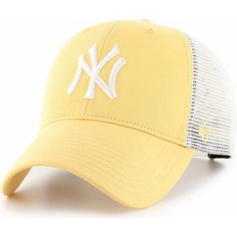 Gorra trucker amarilla MVP Flagship de New York Yankees MLB de 47 Brand
